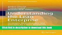 [PDF] Understanding the Lean Enterprise: Strategies, Methodologies, and Principles for a More