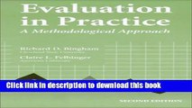 [PDF] Evaluation In Practice: A Methodological Approach,2nd (Second) edition: 1st (First) Edition