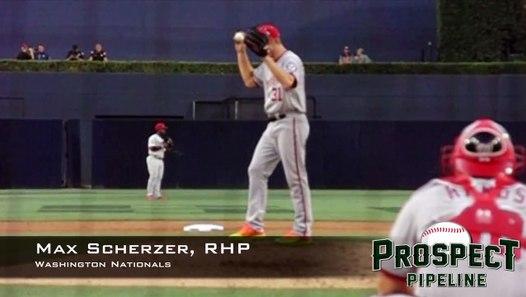 Max Scherzer, RHP, Washington Nationals,Pitching Mechanics ...