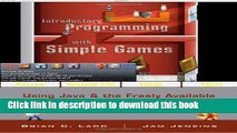 [PDF]  Introductory Programming with Simple Games: Using Java and the Freely Available Networked