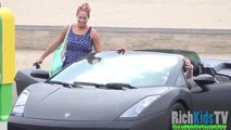 Lamborghini Gold D!gger Prank - Guy Gets Owned - Funny Pranks 2016