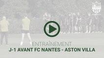 Entraînement : J-1 avant FCN-AVFC