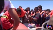 VOA Thousands Of Migrants Are Rescued As Coastguards Spot 26 Overcrowded Boats Heading To Italy