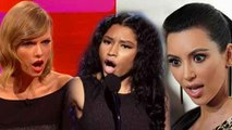 SHOCKING Nicki Minaj SUPPORTS Taylor Swift, DISSES Kim Kardashian & Kanye West