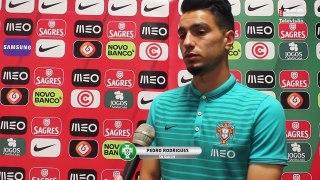 Sub-19 - Pedro Rodrigues sente confiança na equipa portuguesa