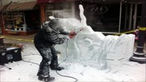 Ice Carving Sound Effect