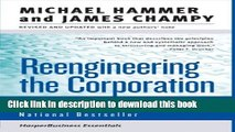 Read Books Reengineering the Corporation: A Manifesto for Business Revolution (Collins Business