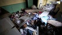 VIDEO. Niort : Premier squat muré en centre-ville