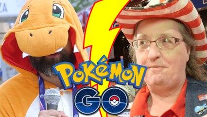 Charmander quizzes Republican delegates on Pokémon GO
