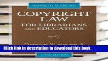 Read Book Copyright Law for Librarians and Educators (Copyright Law for Librarians and Educators: