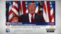 Donald Trump officielement candidat aux élections américaines. - Zap actu du 22/07/2016 par...