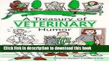 [PDF]  A Treasury of Veterinary Humor: Jokes About Animals, Animal Doctors, Animal Clinics