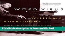 Read Word Virus: The William S. Burroughs Reader (Burroughs, William S.) Ebook Free