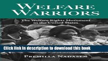 Read Book Welfare Warriors: The Welfare Rights Movement in the United States ebook textbooks