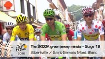 The ŠKODA green jersey minute - Stage 19  - Tour de France 2016