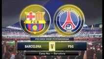 باريس سان جرمان 1-1 برشلونه 10-4-2013 - دوري الابطال - الاياب