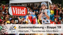 Zusammenfassung - Etappe 19 (Albertville / Saint-Gervais Mont Blanc) - Tour de France 2016