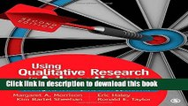 Read Book Using Qualitative Research in Advertising: Strategies, Techniques, and Applications