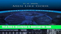 Read Men Like Gods (Dover Thrift Editions) PDF Online