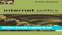 Download Book Internet Politics: States, Citizens, and New Communication Technologies PDF Online