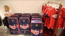 Las jugadoras del equipo ruso de balonmano femenino ya tienen sus uniformes para Río