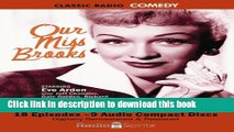 Download Book Our Miss Brooks (Old Time Radio) (Classic Radio Comedy) PDF Free