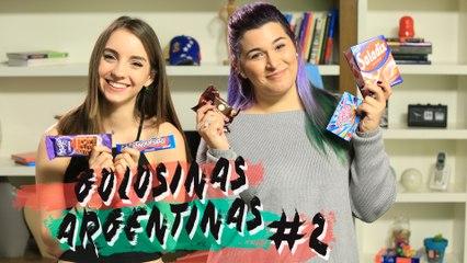 Probando golosinas argentinas (Parte II) | Sweet Patilla con Andreina Gonzalez