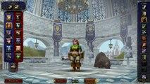 Le Gwiig  ( elfe de la nuit guerrière ) VS WoW n°1
