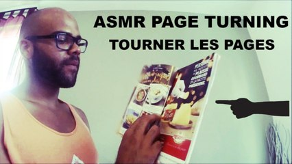 ASMR Page turning ( Tourner les pages)