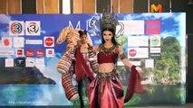 ชุดไทยสร้างสรรค์ Creative Thai Miss Universe Thailand 2016