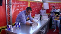 Philip Traber Holds World Record for Pouring 17 Jägerbombs