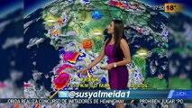 Susana Almeida Pronostico del Tiempo 22 de Julio de 2016