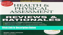 Ebook Pearson Nursing Reviews   Rationales: Health   Physical Assessment (Reviews and Rationales)