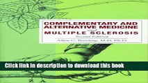[PDF] Complementary and Alternative Medicine and Multiple Sclerosis Full Online