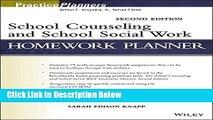 Ebook School Counseling and School Social Work Homework Planner Free Online