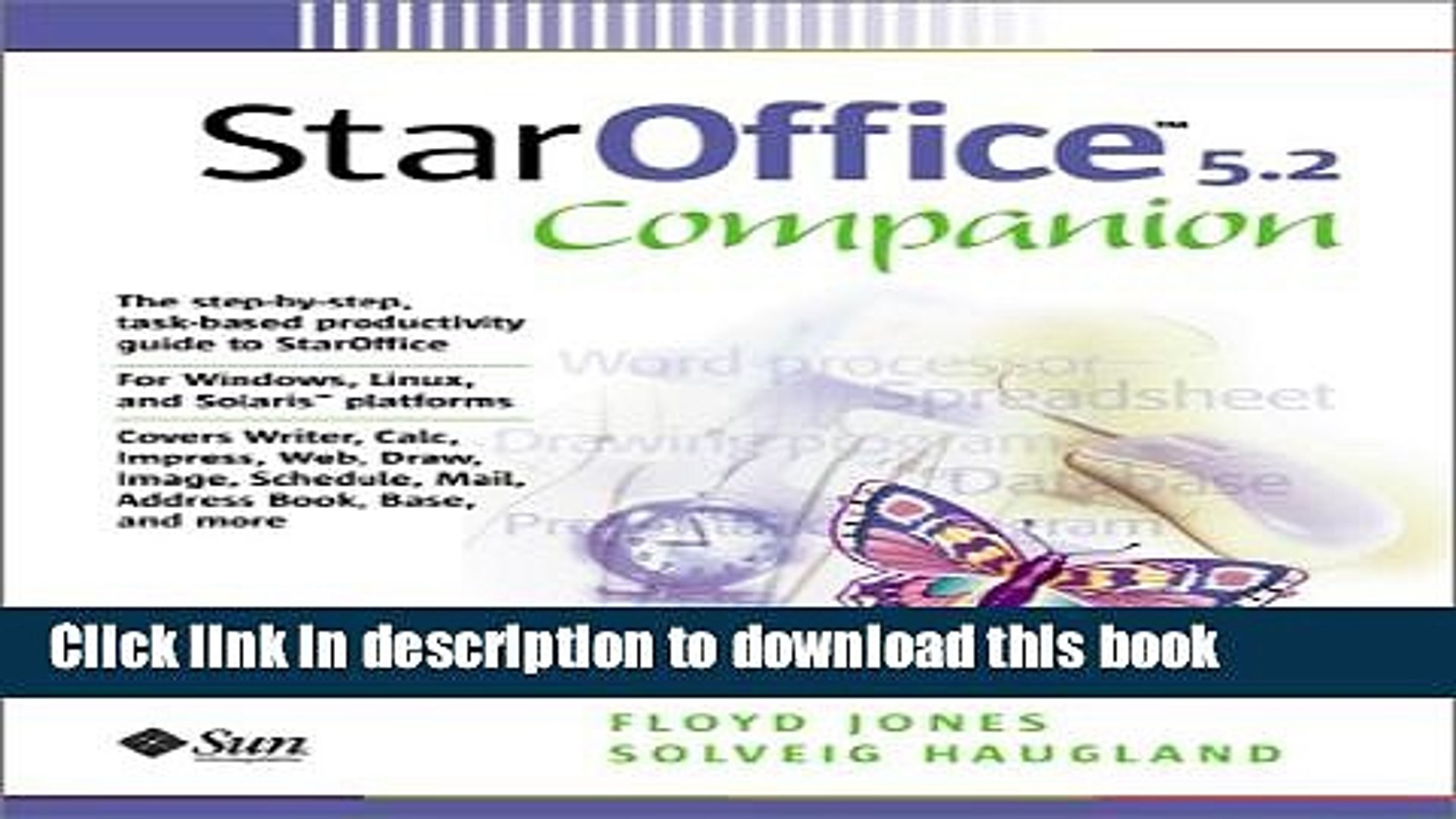 StarOffice 6.0 Office Suite Companion