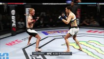 UFC 2 2016 GAME BANTAMWEIGHT UFC BOXING MMA CHAMPION FIGHT GIRLS  ● VALENTINA SHEVCHENKO VS LIZ CARMOUCHE