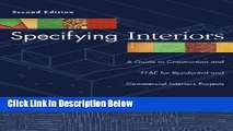 [Reads] Specifying Interiors: A Guide to Construction and FF E for Residential and Commercial