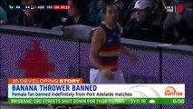 Incident raciste en Australie: Une spectatrice jette une banane en direction d'un joueur aborigène