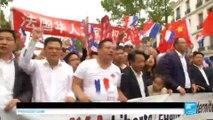 Aubervilliers : des milliers de Français d'origine chinoise manifestent contre les violences qui les visent