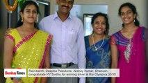 PV Sindhu Wins Silver at Rio Olympics 2016 | Rajinikanth, Deepika, Akshay, Dhanush Congratulate Her