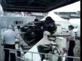Spa-Francorchamps - Police - Voiture tonneaux