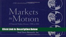 Download Markets in Motion: A Financial Market History: 1900 to 2004: 25th (Fifth) Edition Full