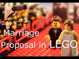 Man Creatively Proposes to Wife Using Lego Animation