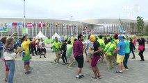 Rio-2016: au parc olympique, on fête la fin des JO