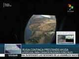 Rusia mantiene su apoyo a Portugal para apagar incendios forestales