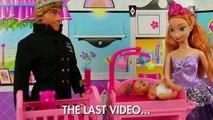 Tangled Mini Movie Starring Elsa Magic Hair Flynn Rider goes to Jail Part 2 DisneyToysFan(0)