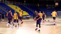 FCB Basket: primer entrenament del Barça Lassa [CAT]