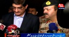Karachi: CM Sindh and DG Rangers media briefing after attack on Media House