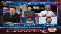 Anchor Imran Khan And Nehal Hashmi Bashing Mian Ateeq On His Defensive Arguments